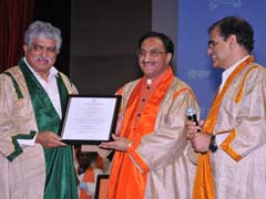 IIT Bombay Confers Doctor Of Science Degree On Nandan Nilekani