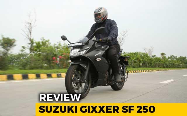 2019 Suzuki Gixxer SF 250 Review