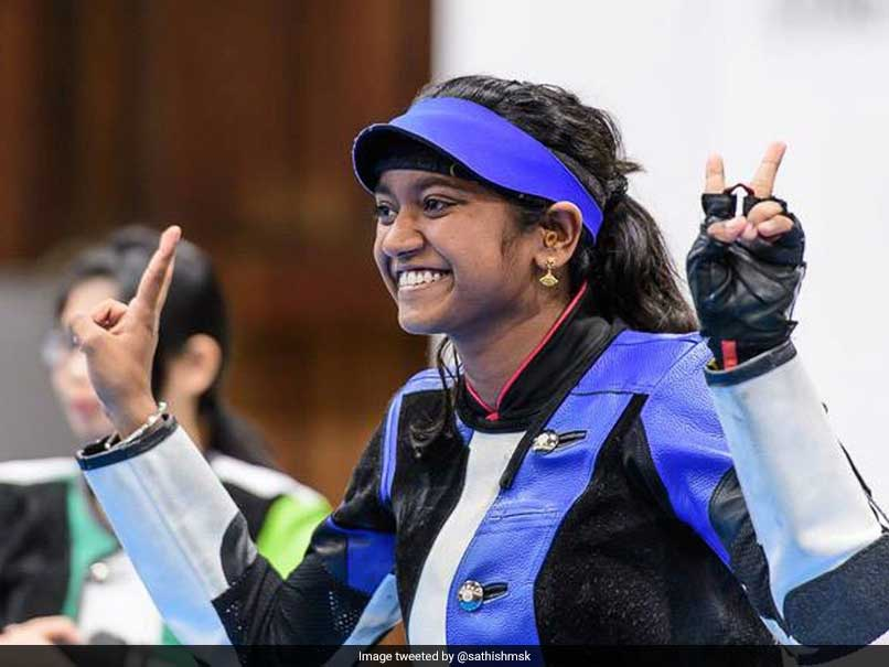 Elavenil Valarivan Wins Her Maiden World Cup Gold Medal