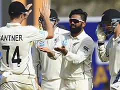 1st Test, Day 2: New Zealand
