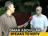 "Video : ""Centre Owes Us An Explanation"": Omar Abdullah On Kashmir Turmoil"
