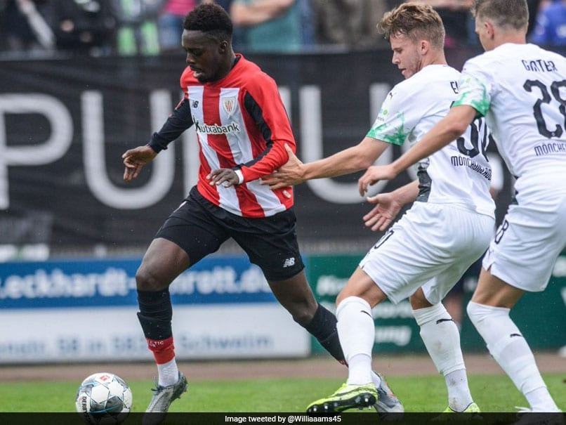 United target, Inaki Williams pens new nine-year Athletic contract