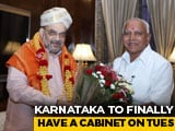 Video : Karnataka Cabinet Expansion Has A Date, 3 Weeks After BS Yediyurappa Oath