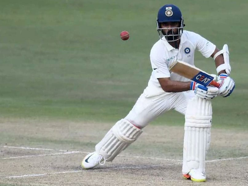India tour match | Rahane gets some valuable runs