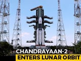 Video : Chandrayaan 2 Successfully Enters Moon's Orbit In Make-Or-Break Move