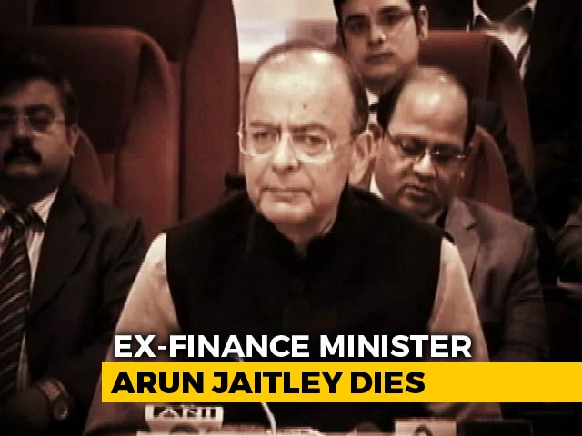 Video : Former Finance Minister Arun Jaitley Dies At AIIMS