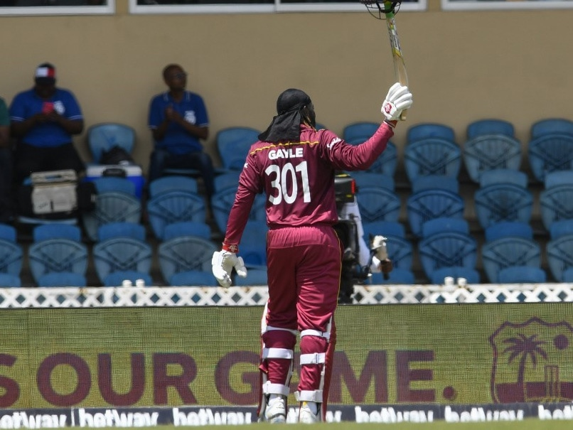 3rd ODI: Chris Gayle Walks Off In Style After Sizzling Knock, May Have Played His Last