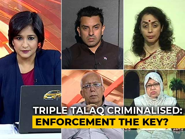 Video : Is The New Triple Talaq Law Actually A Deterrent?