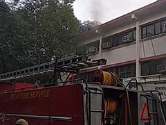 Fire Breaks Out At Delhi's Vikas Bhawan, No Casualties Reported