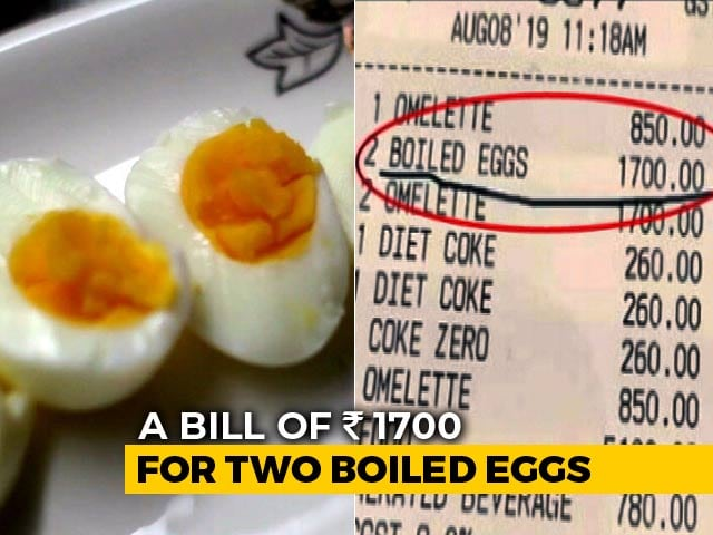 Video : Hotel Guest Billed Rs 1,700 For 2 Boiled Eggs, Tags Rahul Bose On Twitter