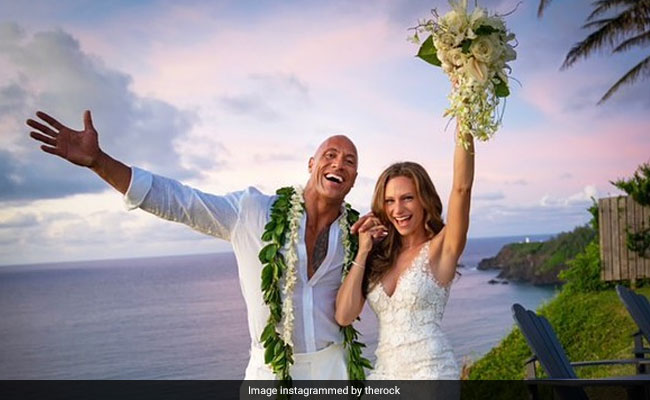 Inside Dwayne Johnson And Lauren Hashian's Hawaiian Wedding. See Pics
