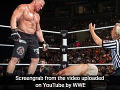 WWE में जब ब्रॉक लेसनर ने की क्रूरता की हदें पार, जॉन सीना को इतना पीटा कि रोने लगे लोग... देखें VIDEO