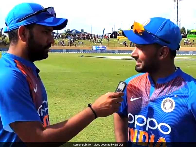 "Yuzvendra Chahal Posts Cheeky ""Missing Me"" Tweet After Rohit Sharma Interviews Rishabh Pant"