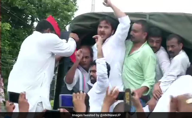 Azam Khan's Son Arrested For Violating Prohibitory Orders In UP's Rampur