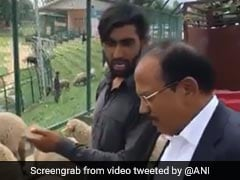 National Security Advisor Ajit Doval's Chat With Sheep Traders In Kashmir