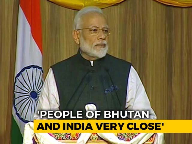 "Video : ""No Better Time To Be Young Than Now"": PM To Students In Bhutan"