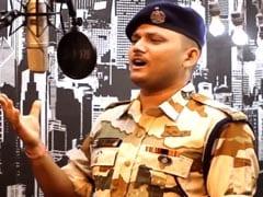 "Watch: ITBP Soldier Sings ""<i>Sandese Aate Hain</i>"", Wins Kiren Rijiju's Praise"