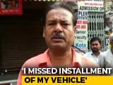 "Video : ""Missed 2 Instalments, Have Proof"": Unnao Truck Owner Counters Lender"