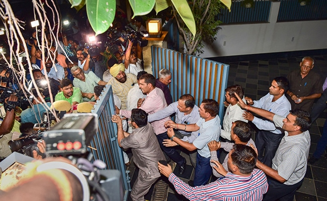 """Shameless Witch-Hunt"": Congress Attacks Centre Over P Chidambaram Arrest"