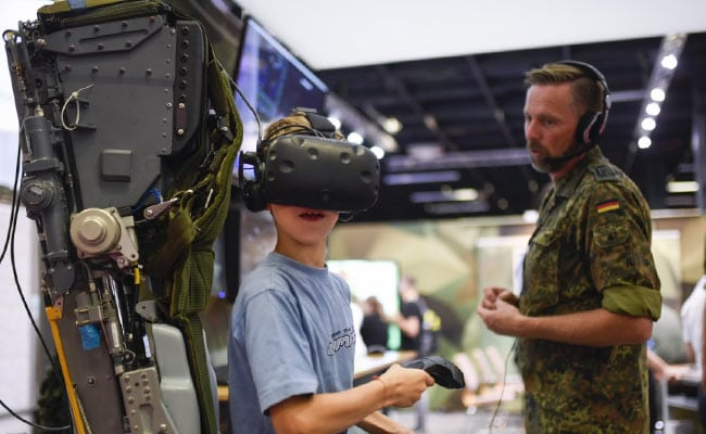 German Army Seeks Out Gamers In Hunt For Computer-Savvy Soldiers