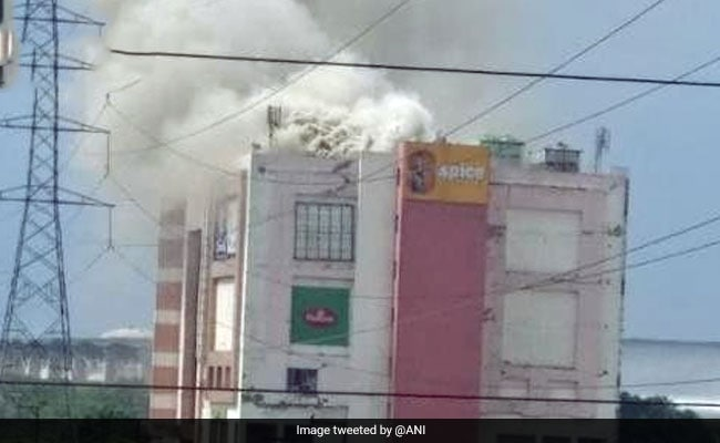 Fire Breaks Out At Noida Mall, Multiple Fire Engines At Spot
