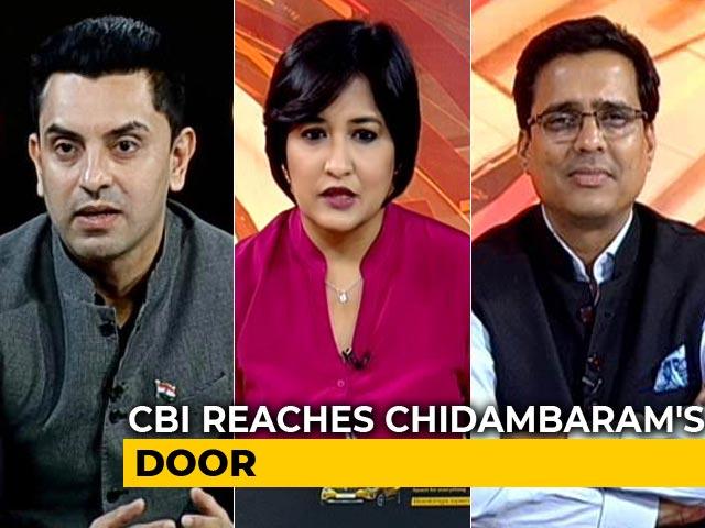 Video : INX Media Case: CBI Reaches P Chidambaram's Door