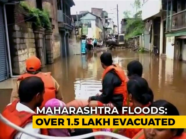 Video : Floods Submerge Parts Of Maharashtra, Karnataka, Kerala And Andhra Pradesh