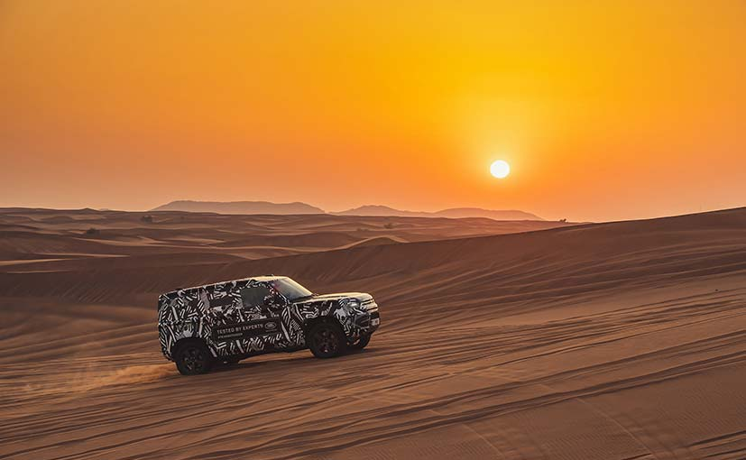 All-terrain experts from IFRC put the Land Rover Defender through its paces.