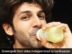 बेबी बॉटल से 'मैंगोशेक' पीते नजर आए सारा अली खान के 'सोनू', अब Video हुआ वायरल