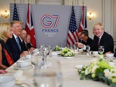 Donald Trump Paints Picture Of Unity At Prickly G7 Summit
