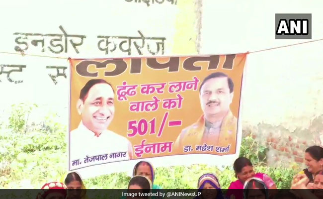 UP Residents Put Up Posters For 'Missing' MP, MLA. Here's Why