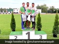 Muhammed Anas Wins Gold Medal In 300m Race At Athleticky Mitink Reiter