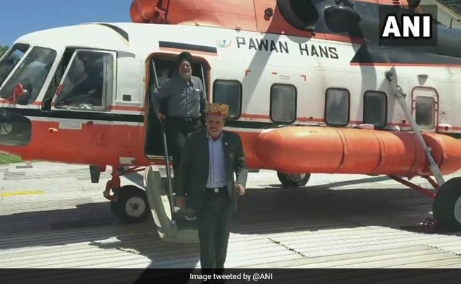 Himachal Pradesh Minister Airlifted To Shimla Amid Snow, 150 Stranded