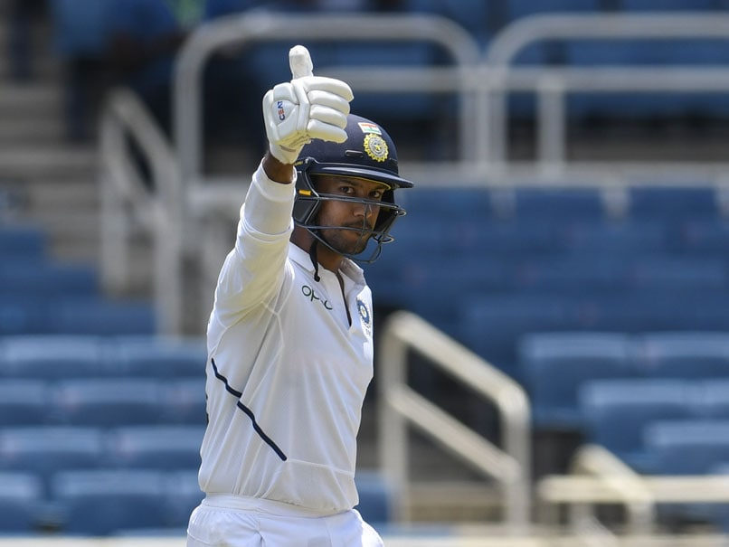 Mayank Agarwal Says India are in great position despite challenging conditions