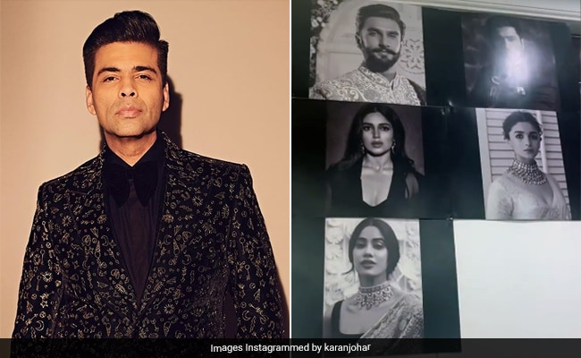 Takht: Karan Johar Shares The Dream Cast Of The Film In This Prep Video