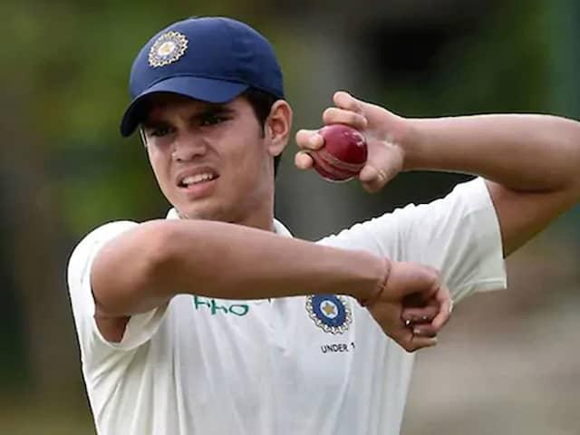 Arjun Tendulkar In Mumbai Squad For Pre-Season Tournament