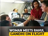 Video : Woman Meets Rahul Gandhi On Flight From Srinagar. Priyanka Gandhi Tweets