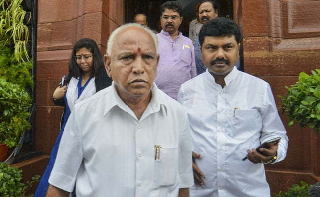 Golf Ball Lands Inside BS Yeddiyurappa's Home, Security Officers In Tizzy