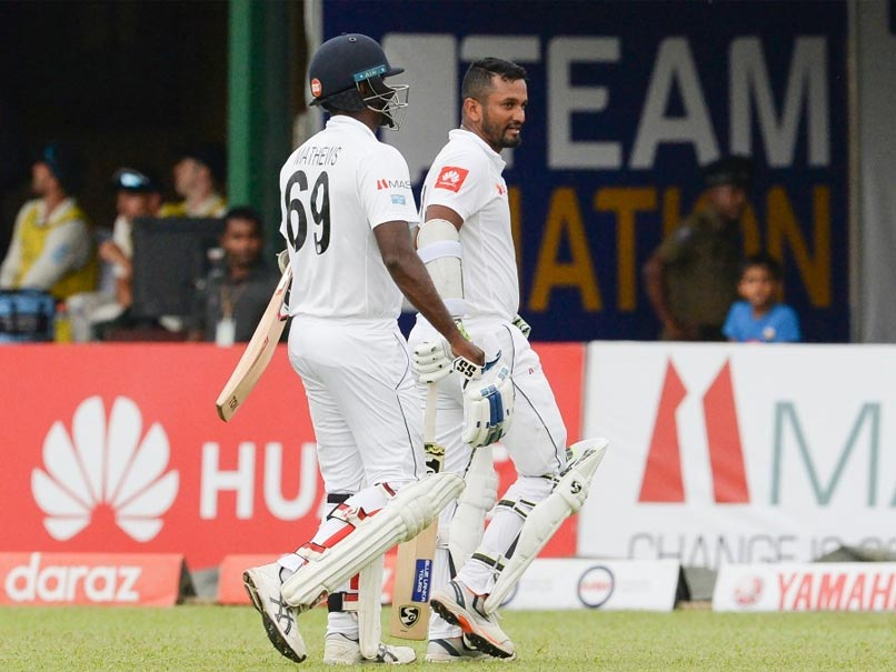 Dimuth Karunaratne Helps Sri Lanka To 85-2 On Rain-Hit First Day