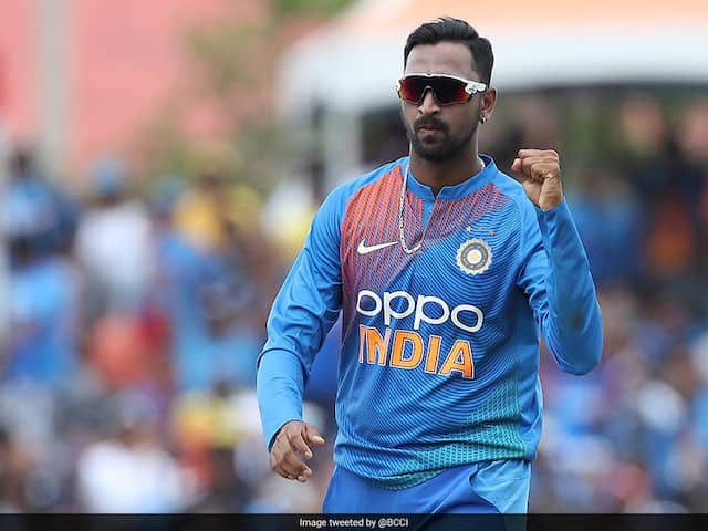 Krunal Pandya says Doing What I do for domestic cricket
