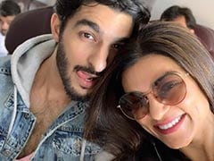 Pic: The One With Sushmita Sen And Her 'Playful Humsafar' Rohman Shawl