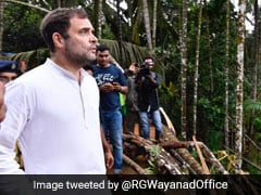 """Timely Visit Then..."": Rahul Gandhi's Swipe At PM After Kerala Tweet"