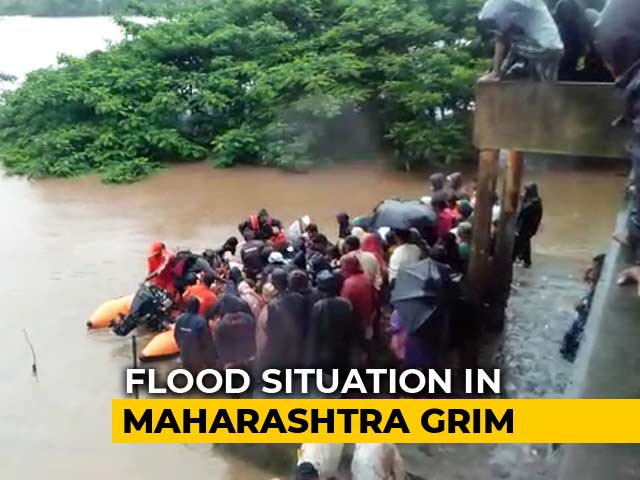 Video : 14 Dead After Boat Capsizes In Maharashtra, State Grapples With Floods