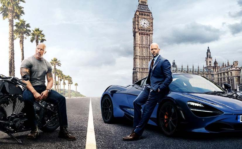 From the swanky McLaren 720S to a modified Triumph Street Triple RS, Hobbs And Shaw had everything