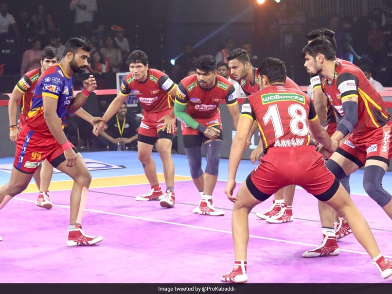 PKL 7: UP Yoddha Beat Bengaluru Bulls; Bengal Warriors, Telugu Titans Play Out Draw