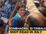 Video : Priyanka Gandhi Visits UP Village Where 10 Were Killed In Shootout