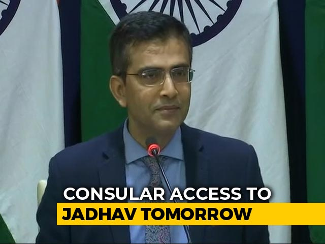 Video : India To Evaluate Pak Offer Of Consular Access To Kulbhushan Jadhav