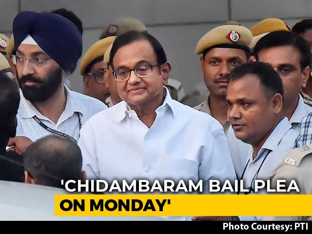 Video : Supreme Court To Hear P Chidambaram's Appeal Against Arrest On Monday