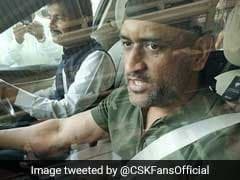 Viral Video: MS Dhoni Spotted In Jaipur Sporting A New Look