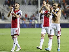 Champions League: Ajax Finish With 10 Men, A Goalless Draw In Cyprus